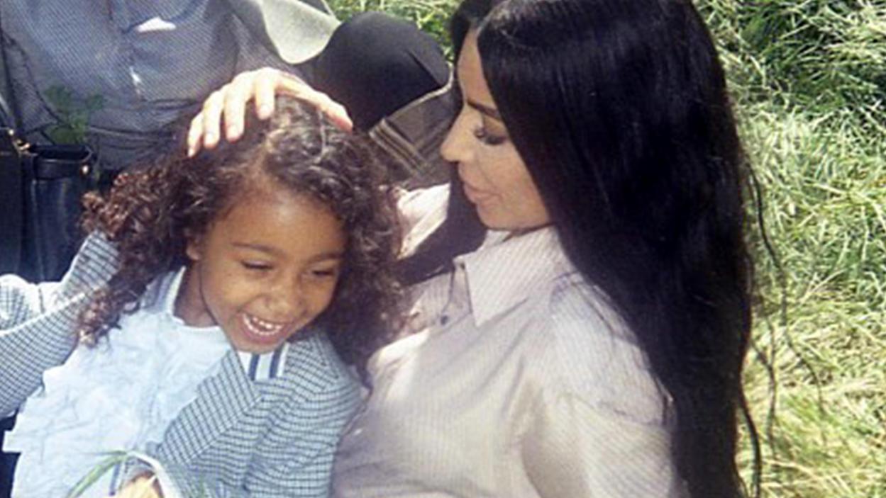 Tochter North ist der ganze Stolz von Mama Kim.