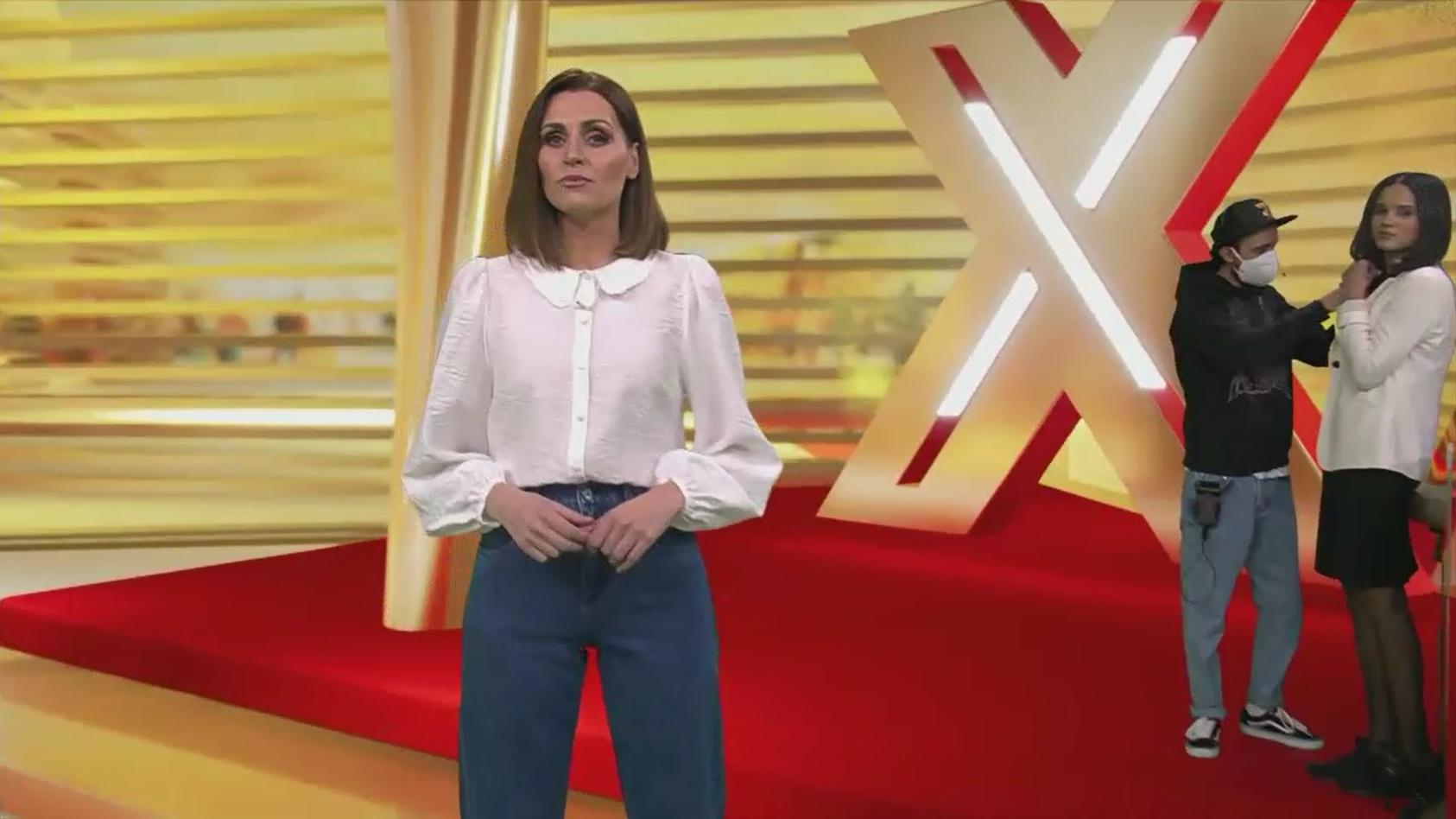 Kleine Panne im RTL-Studio.