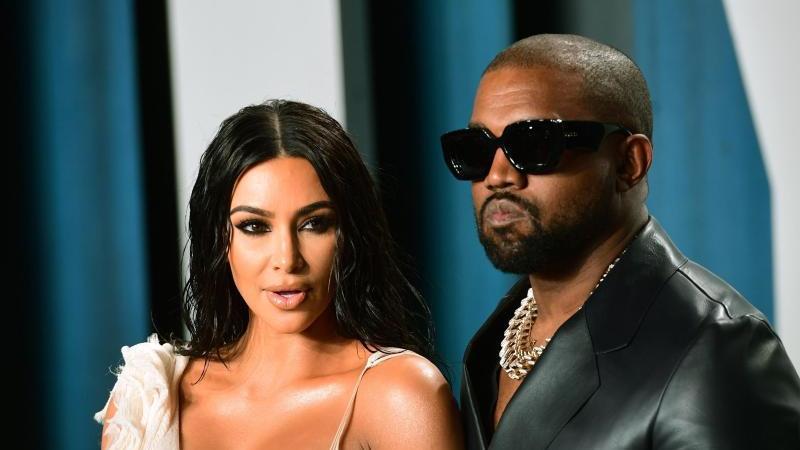 Kim Kardashian hat die Scheidung von Rapper Kanye West eingereicht. Foto: Ian West/PA Wire/dpa