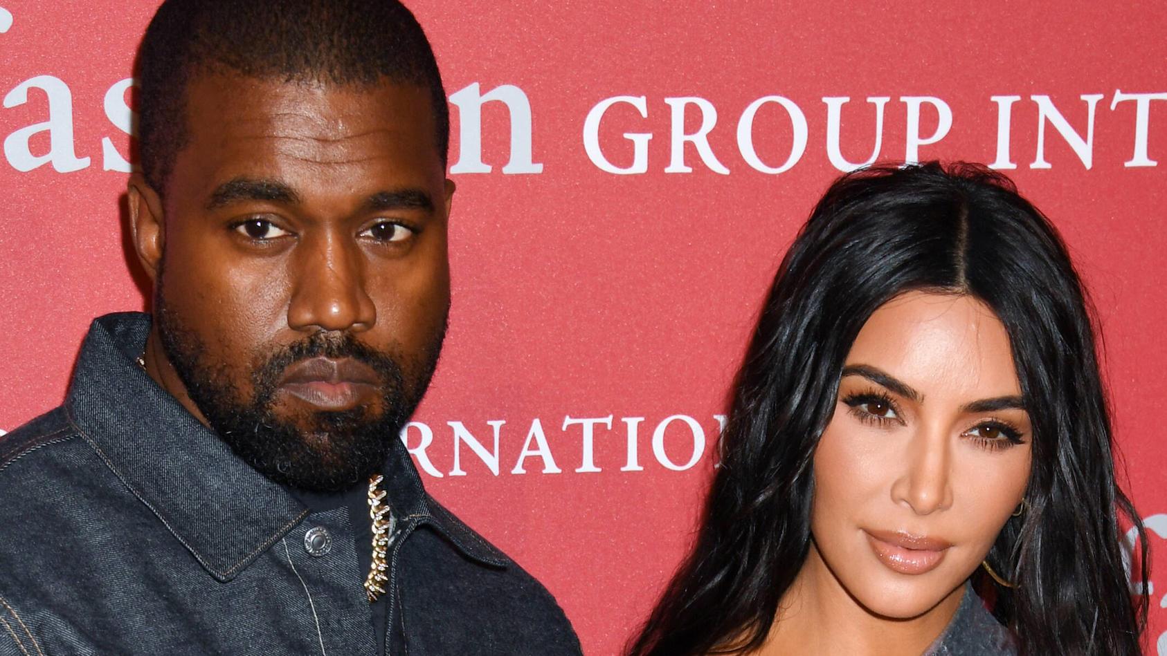 Kanye West und Kim Kardashian West bei einem Event 2019
