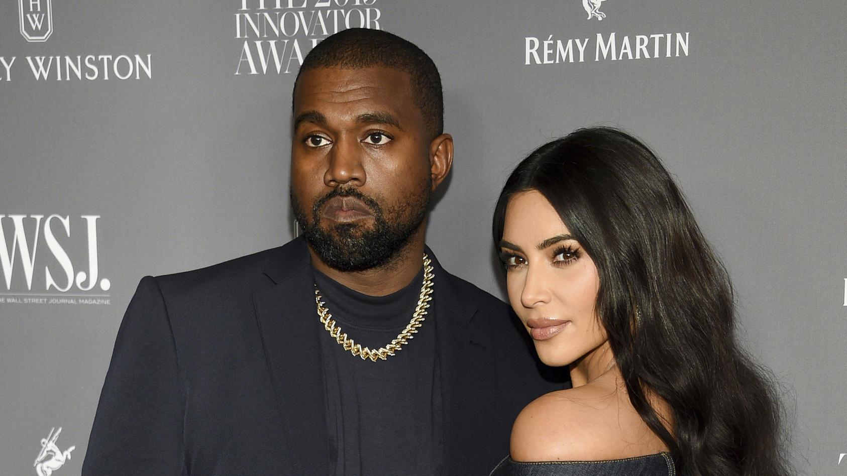 Kanye West und Kim Kardashian waren sieben Jahre lang verheiratet.
