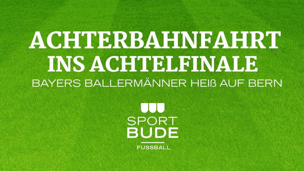 Die Sportbude am Mittwoch ab 19:05 Uhr live!
