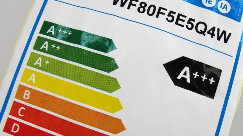 Alte Kategorien der Energieeffizienzklasse, die zum 1. März abgelöst wird