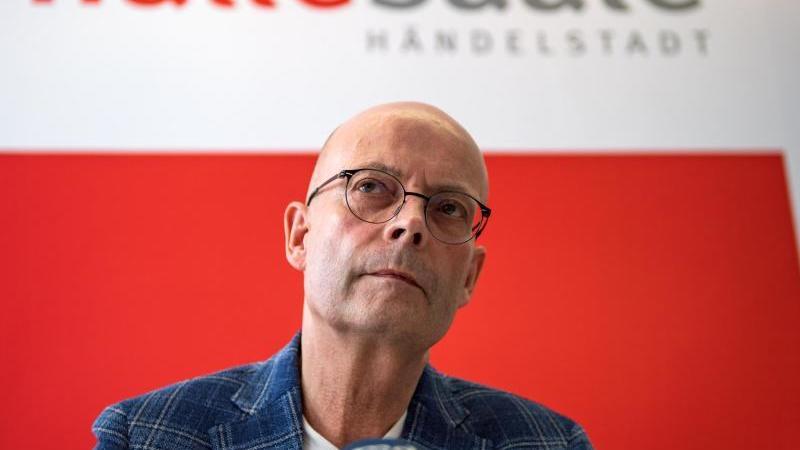 Bernd Wiegand (parteilos), Oberbürgermeister der Stadt Halle/Saale. Foto: Hendrik Schmidt/dpa/Archivbild