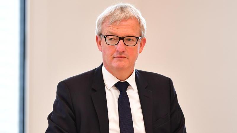 Guido Beermann, Brandenburger Minister für Infrastruktur und Landesplanung. Foto: Soeren Stache/dpa-Zentralbild/dpa/Archivbild