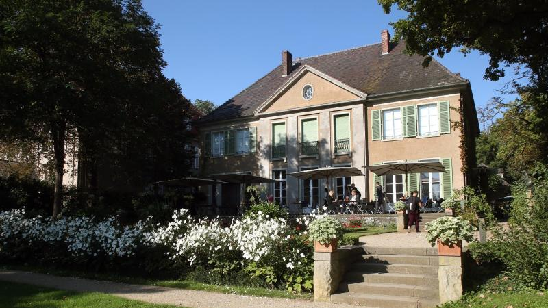 Die Liebermann-Villa am Wannsee. Foto: Wolfgang Kumm/dpa/Archivbild