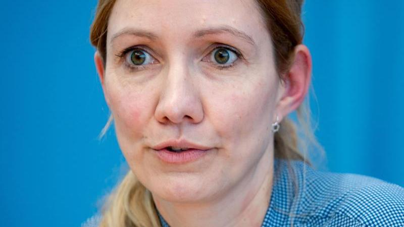 Sandra Ciesek, die Direktorin des Instituts für Medizinische Virologie am Uniklinikum Frankfurt. Foto: Kay Nietfeld/dpa/Archivbild
