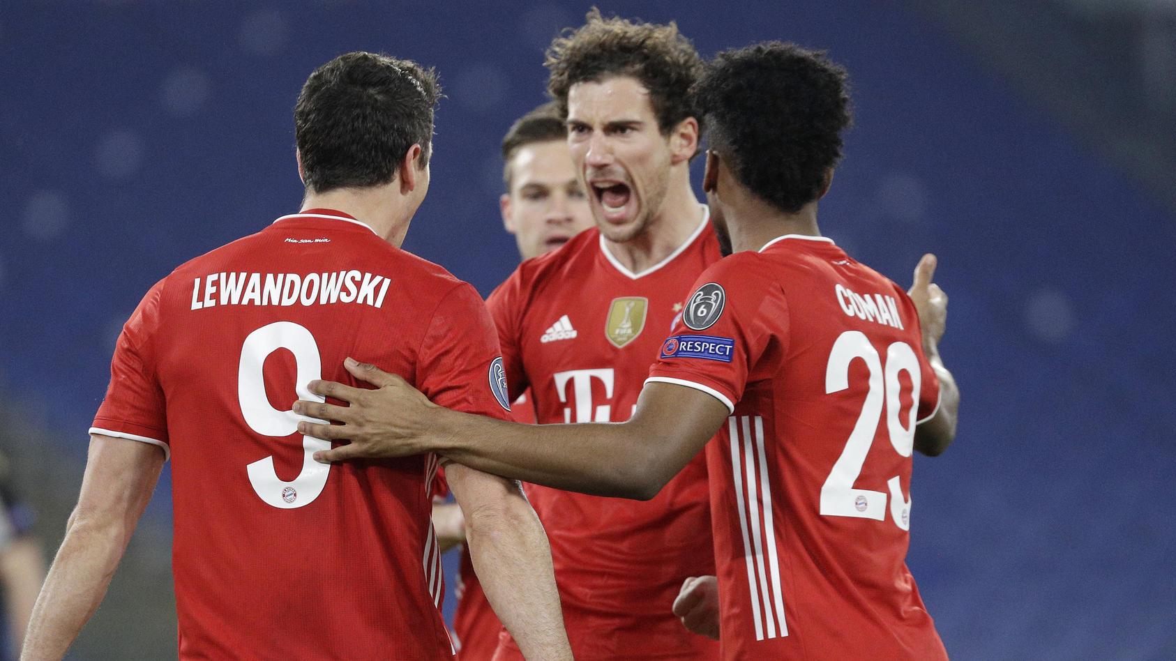 Bayern München war eine Nummer zu groß für Lazio Rom.