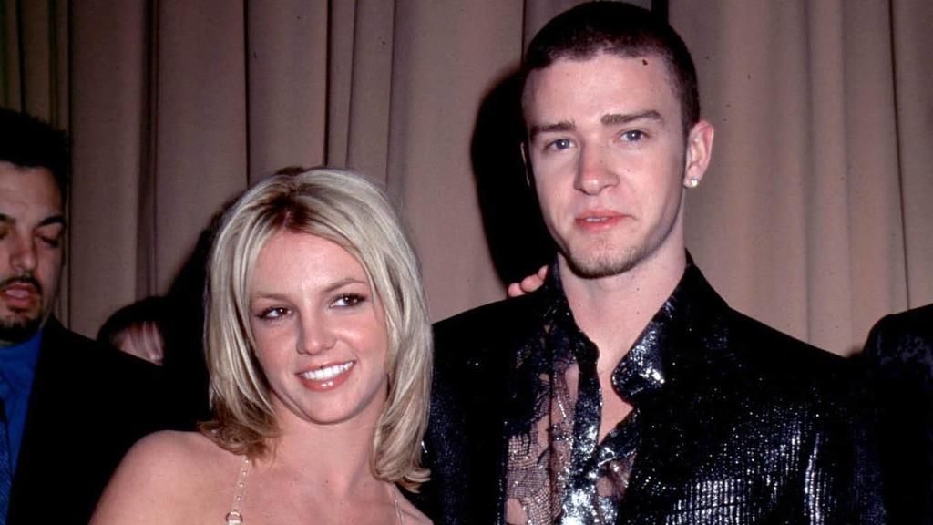 Britney Spears und Justin Timberlake im Jahr 2001.