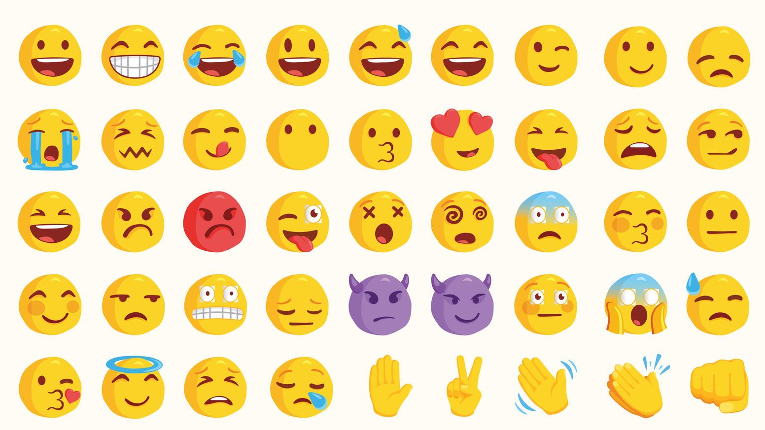 Whatsapp bedeutung smileys insuvingnim: Smiley