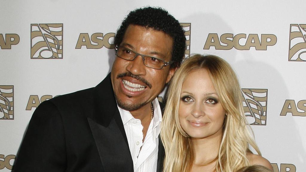 Lionel Richie und seine Tochter Nicole