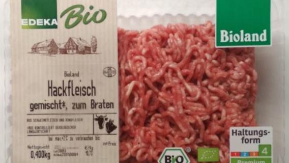 Edeka Bio Bioland Hackfleisch gemischt 400g