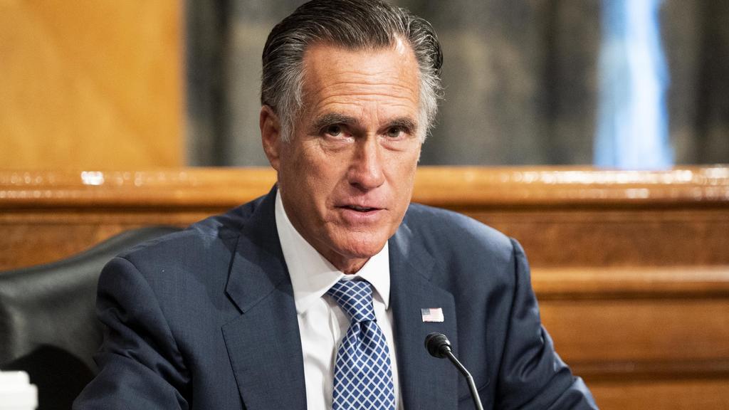 U.S. Senator Mitt Romney ist einer der wenigen Konservativen, die Trump regelmäßig offen kritisieren.
