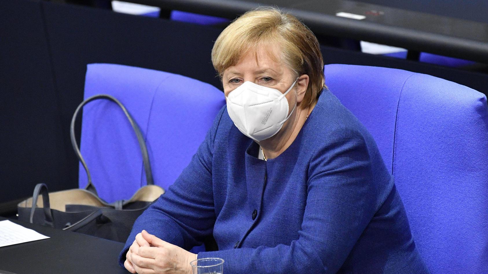 Kanzlerin Merkel war in den vergangenen Tagen Stück für Stück von der 35er Marke abgerückt.r