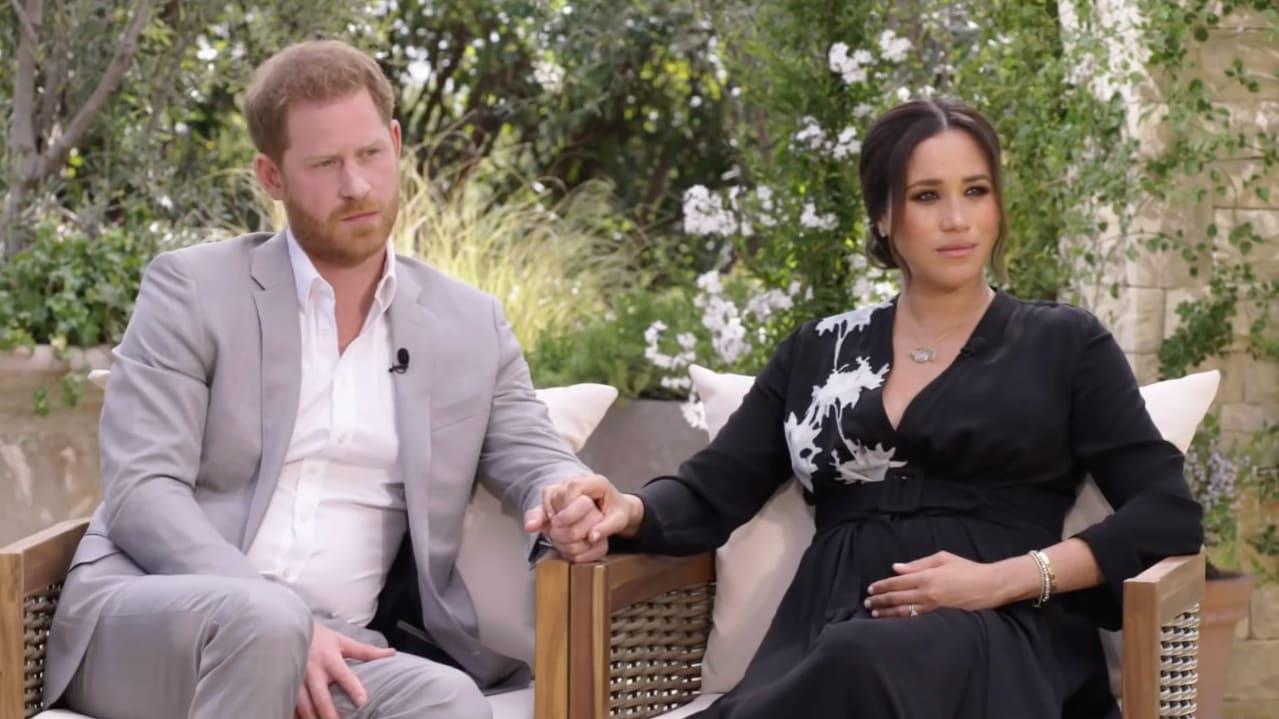 Herzogin Meghan und Prinz  Harry haben Oprah Winfrey ein Interview gegeben.