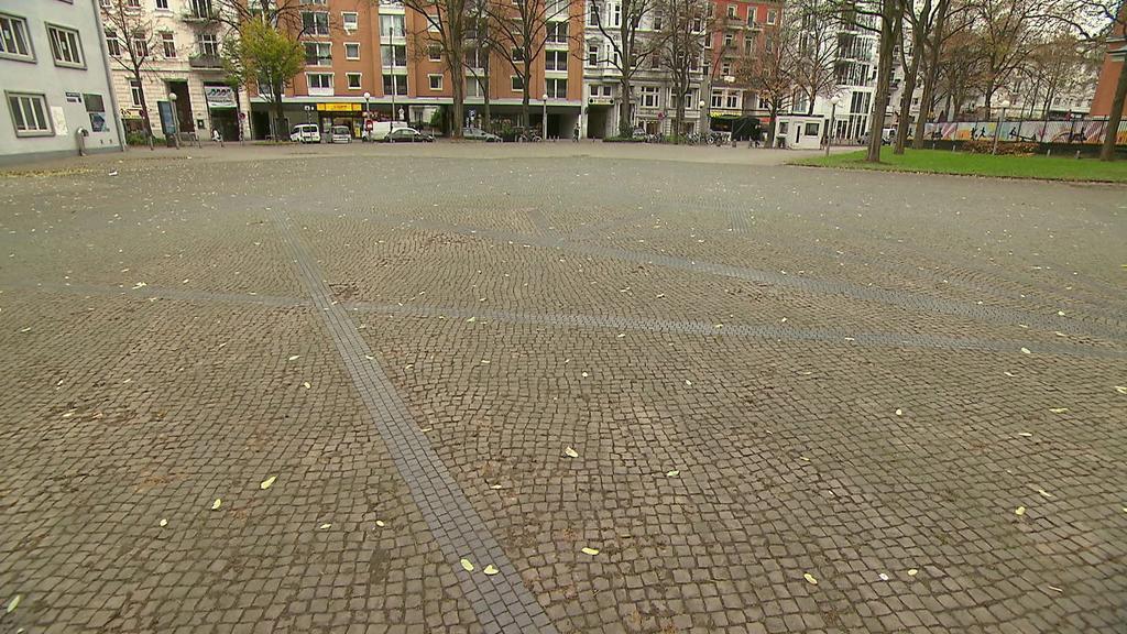 Ehemaliger Standort der Bornplatzsynagoge in Hamburg