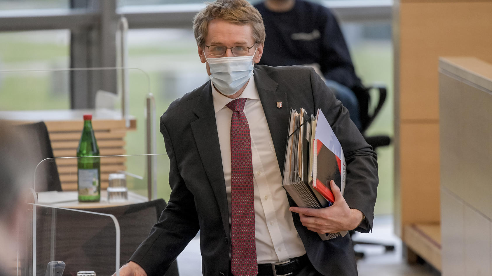 Ministerpräsident Günther im Landtag