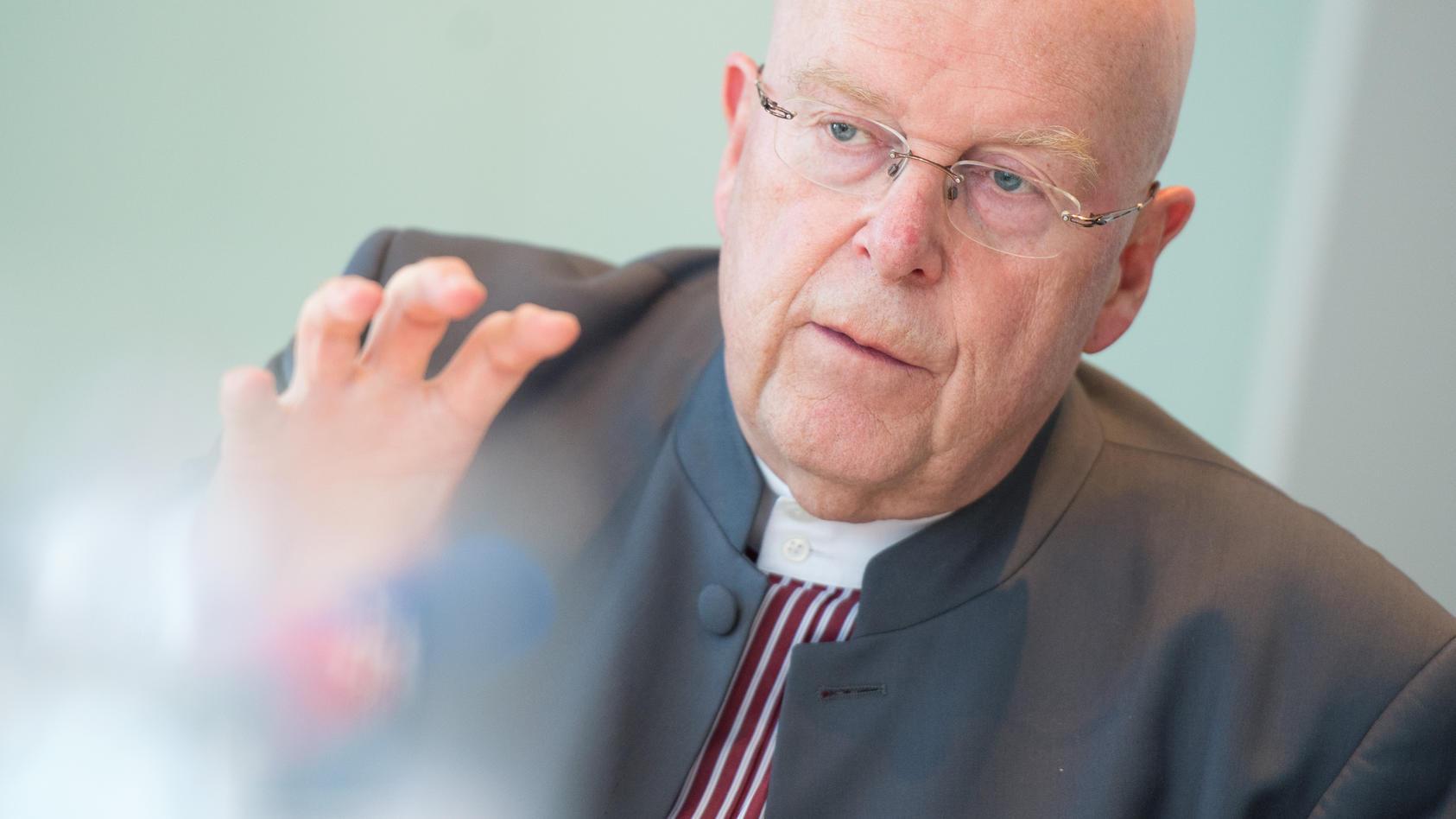 Der Hamburger Uni-Präsident Dieter Lenzen