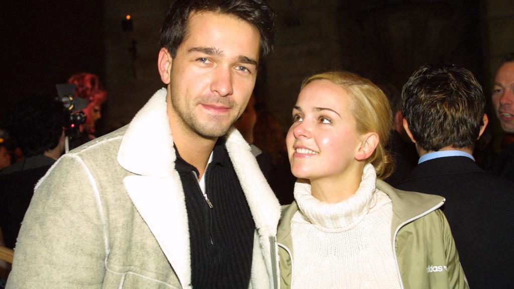 So sieht Liebe aus: Andreas Elsholz und Denise Zich.
