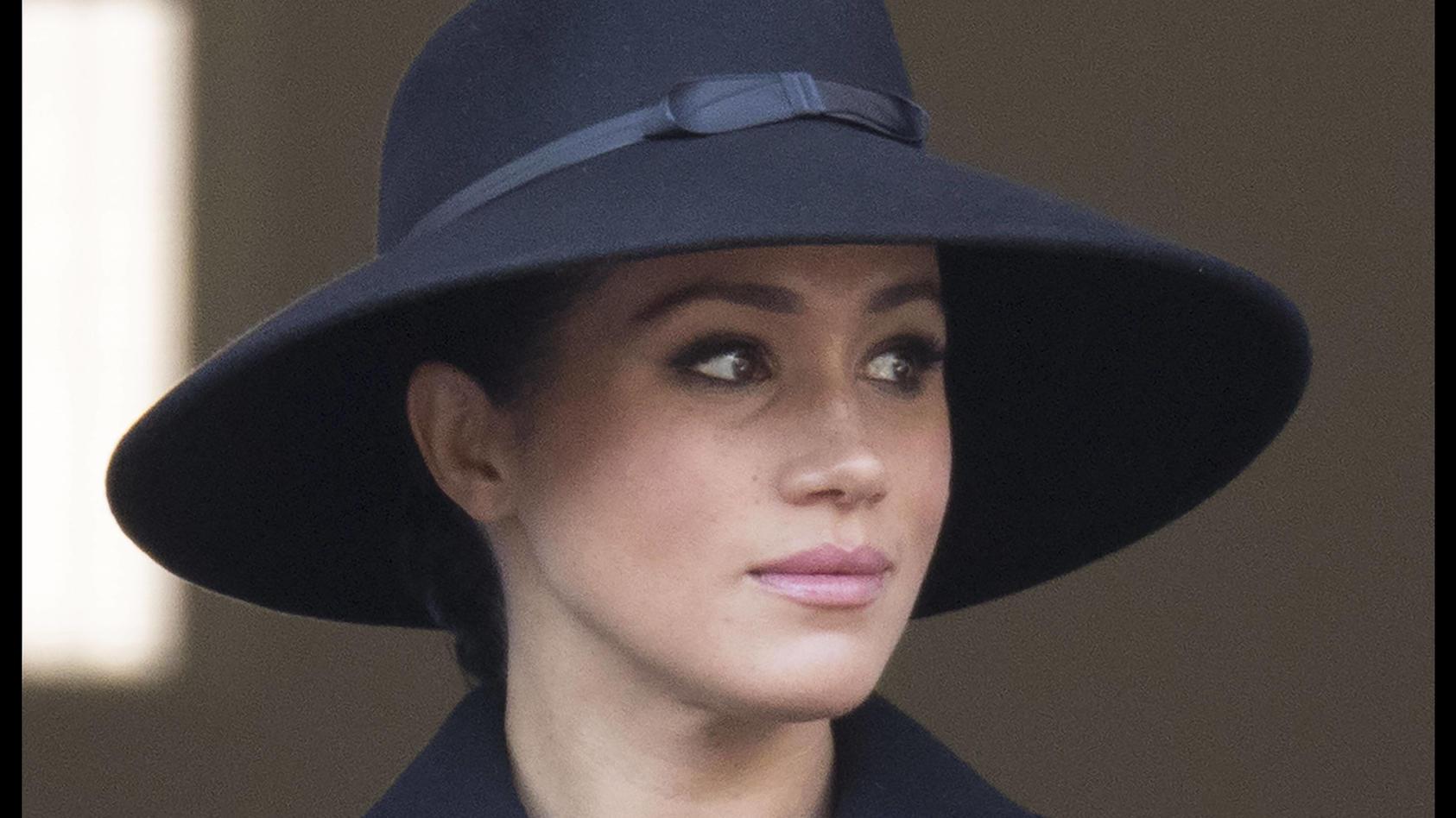 Herzogin Meghan nimmt die Anschuldigungen gegen ihre Person ernst.