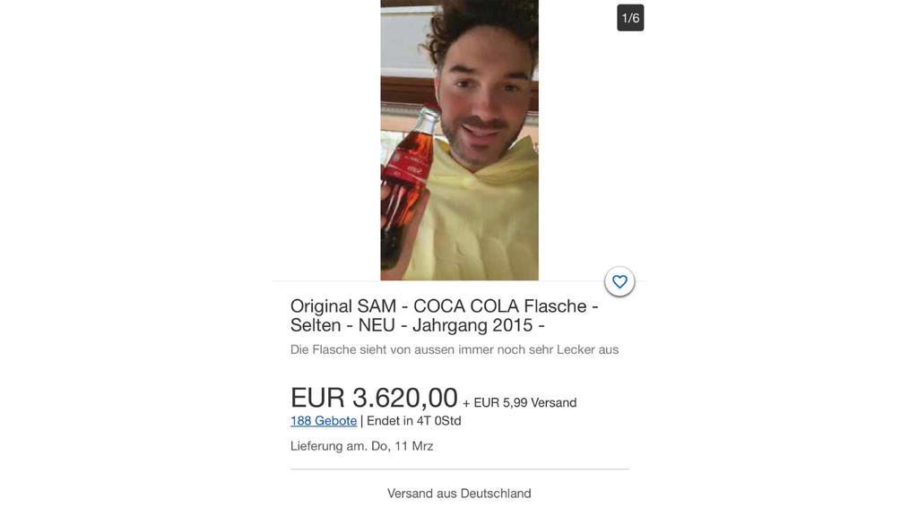 Sam Dylan bei Ebay