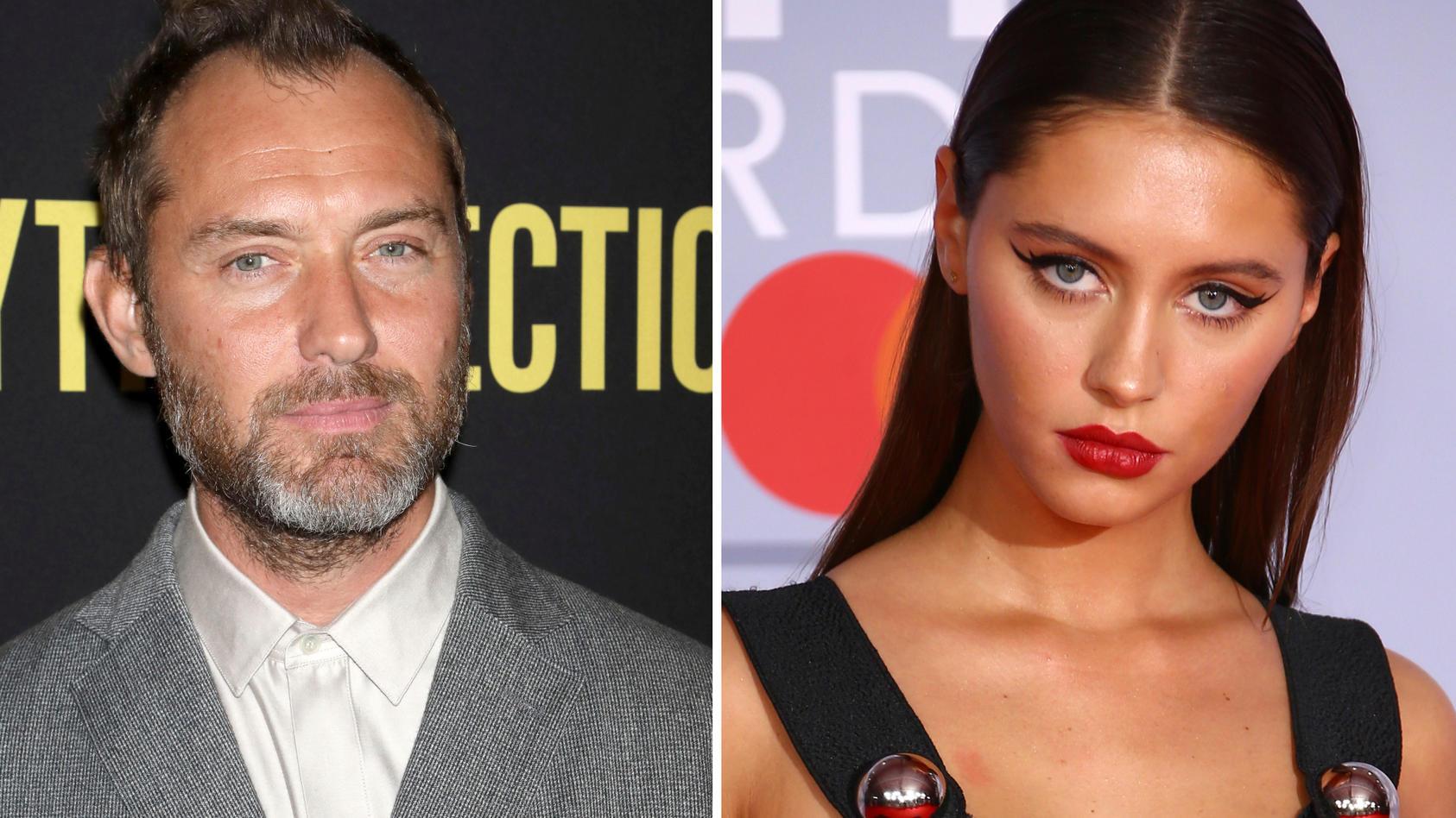 Die Tochter von Schauspieler Jude Law, Iris Law, hat ihre erste Rolle ergattert - und die klingt vielversprechend.