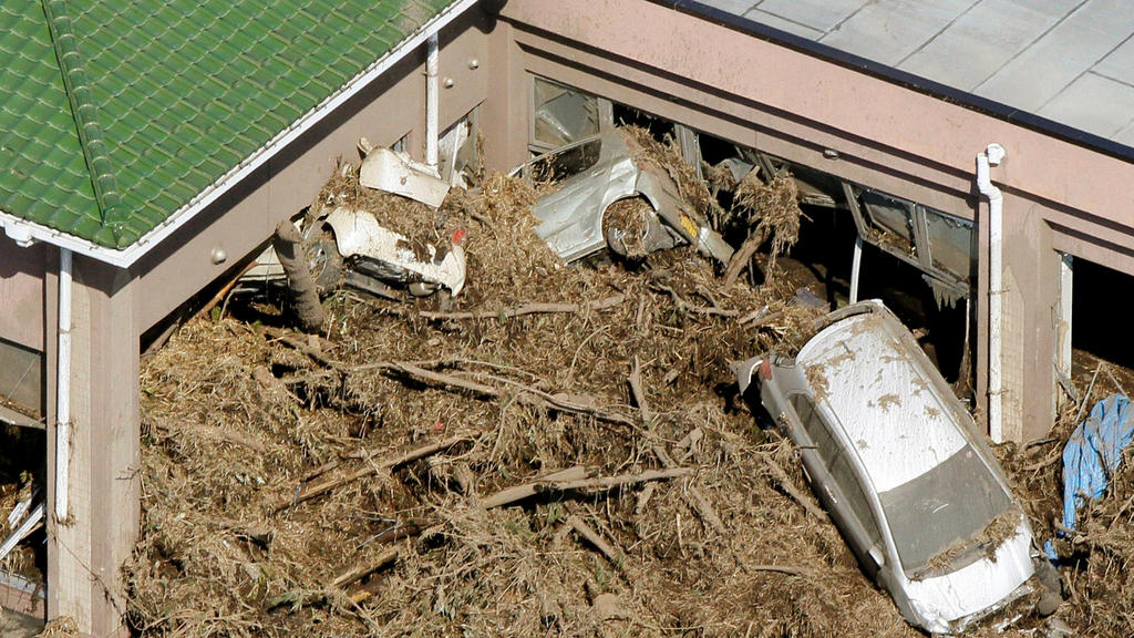 10 Jahr nach dem Tsunami in Fukushima