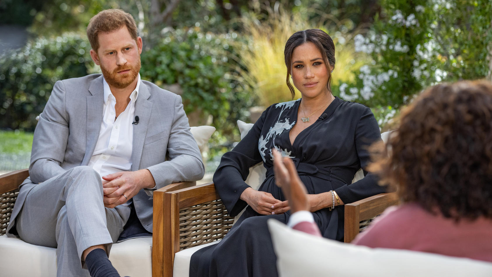 Oprah Winfrey interviewt Prinz Harry und Meghan. RTL und Vox zeigen das Gespräch am Montag in voller Länge.
