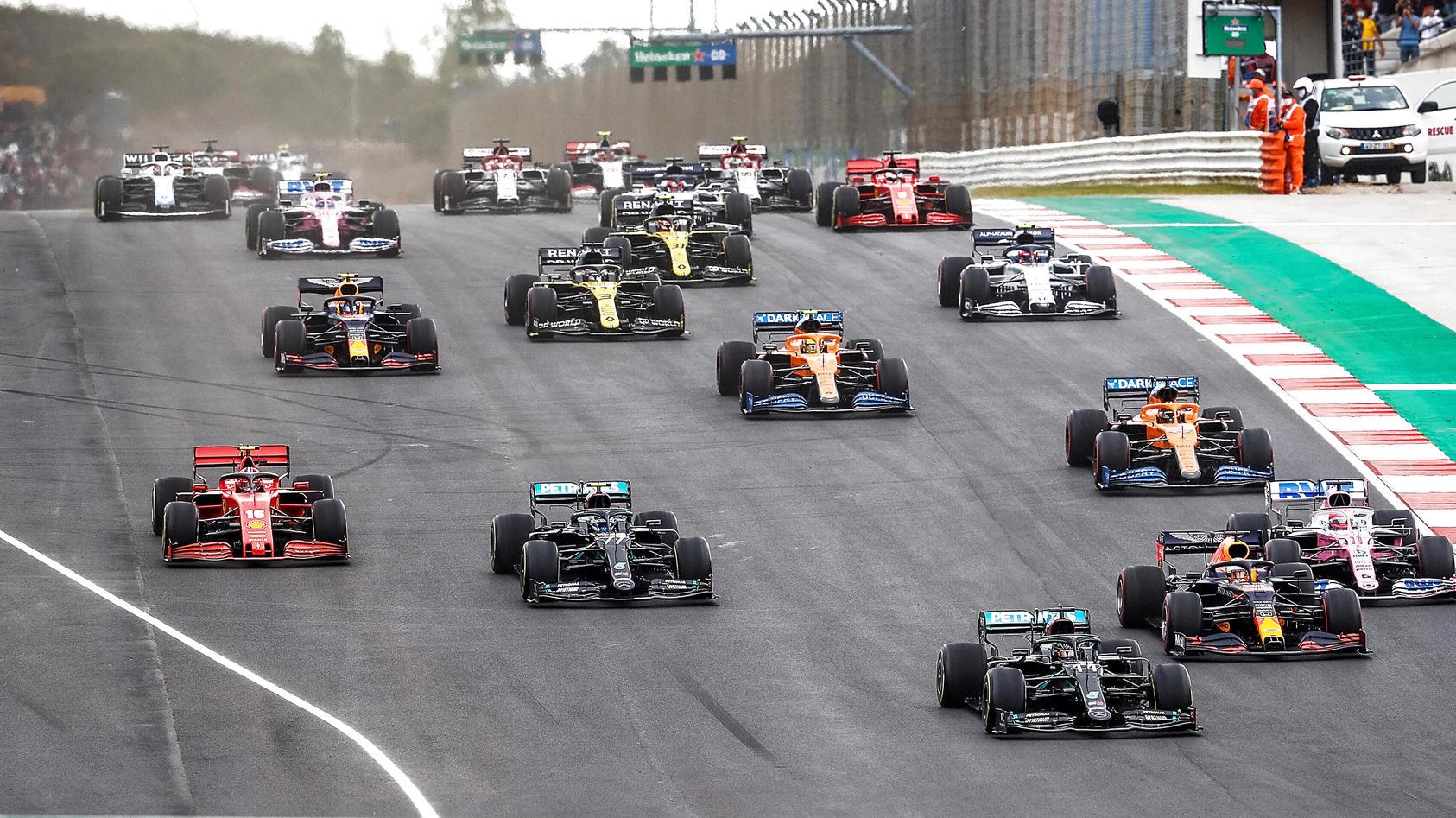 Die Formel 1 in Portimao