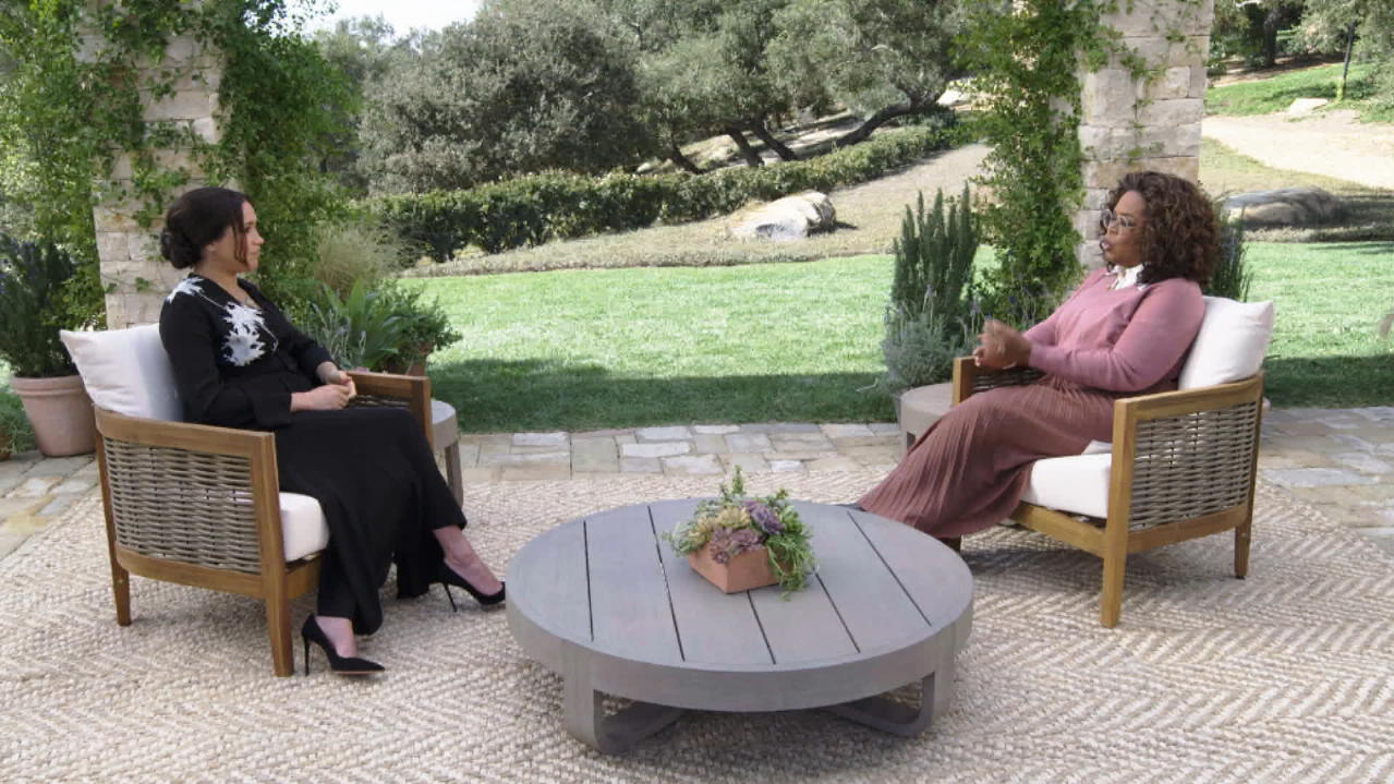 Meghan und Oprah