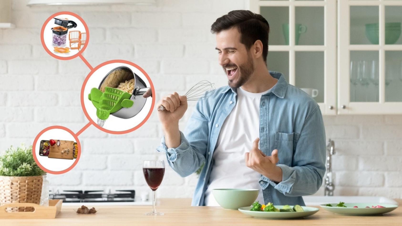 Mit smarten Küchen-Gadgets macht das Kochen richtig Spaß!