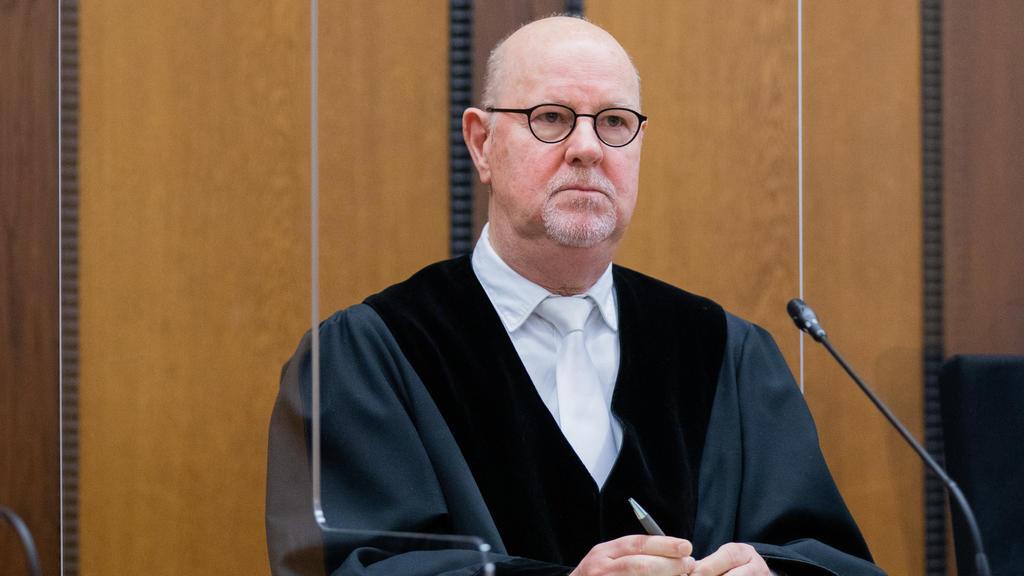 Der Vorsitzende Richter Lothar Beckers.