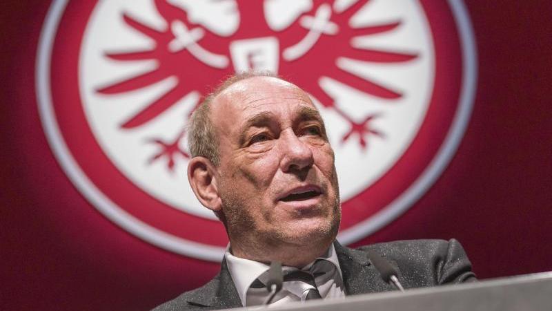 Peter Fischer, Präsident von Eintracht Frankfurt. Foto: Frank Rumpenhorst/dpa/Archivbild