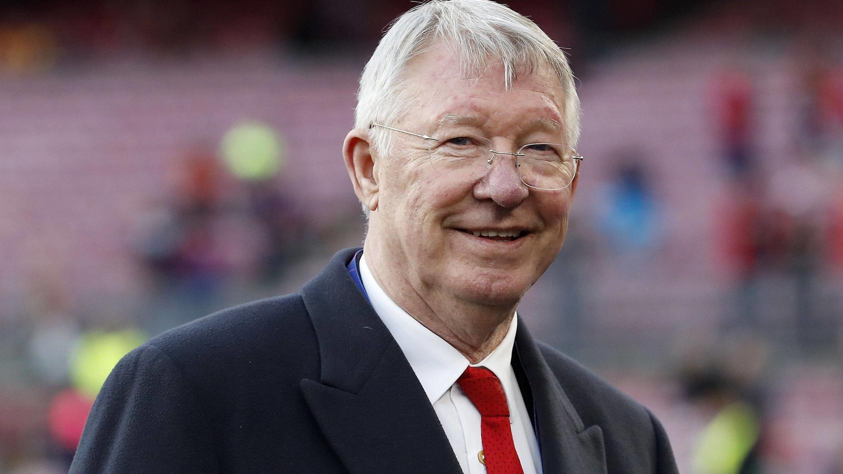 Sir Alex Ferguson erlitt 2018 eine Gehirnblutung