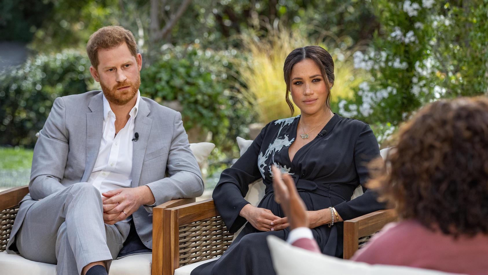 Oprah Winfrey interviewt Prinz Harry und Meghan