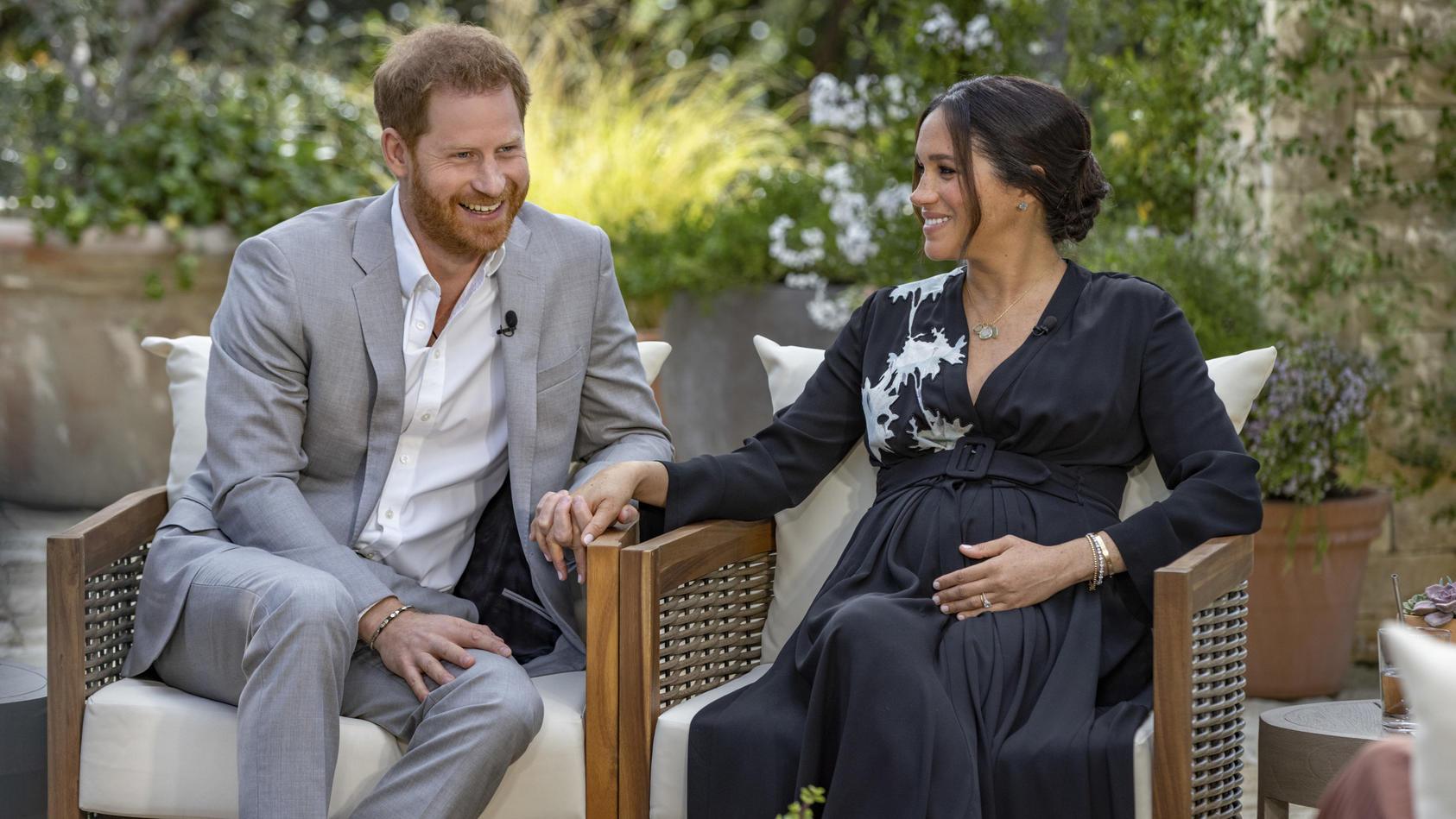 Im Interview mit Oprah Winfrey plaudert Harry jetzt das Geschlecht ihres zweiten Kindes aus.