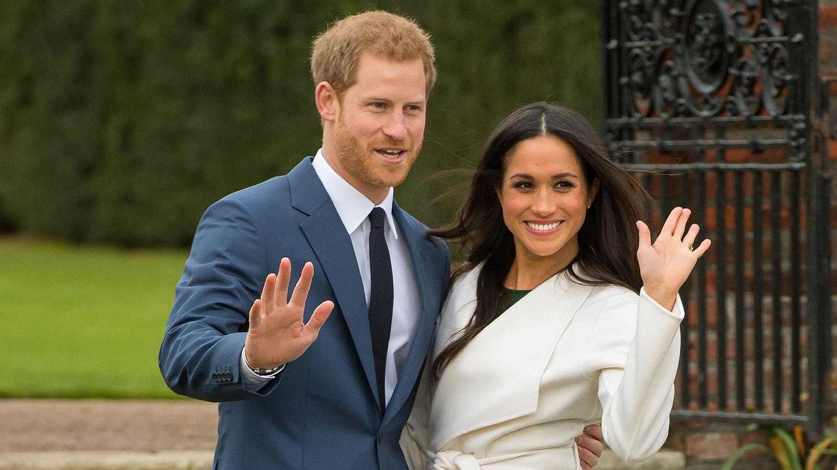 Prinz Harry und Herzogin Meghan haben 2018 heimlich geheiratet.
