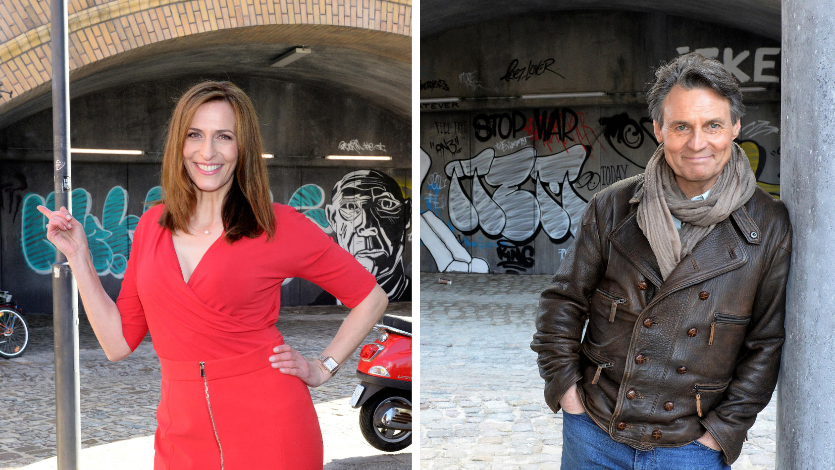 Ulrike Frank und Wolfgang Bahro sind schon jetzt Feuer und Flamme für den neuen Kolle-Kiez.