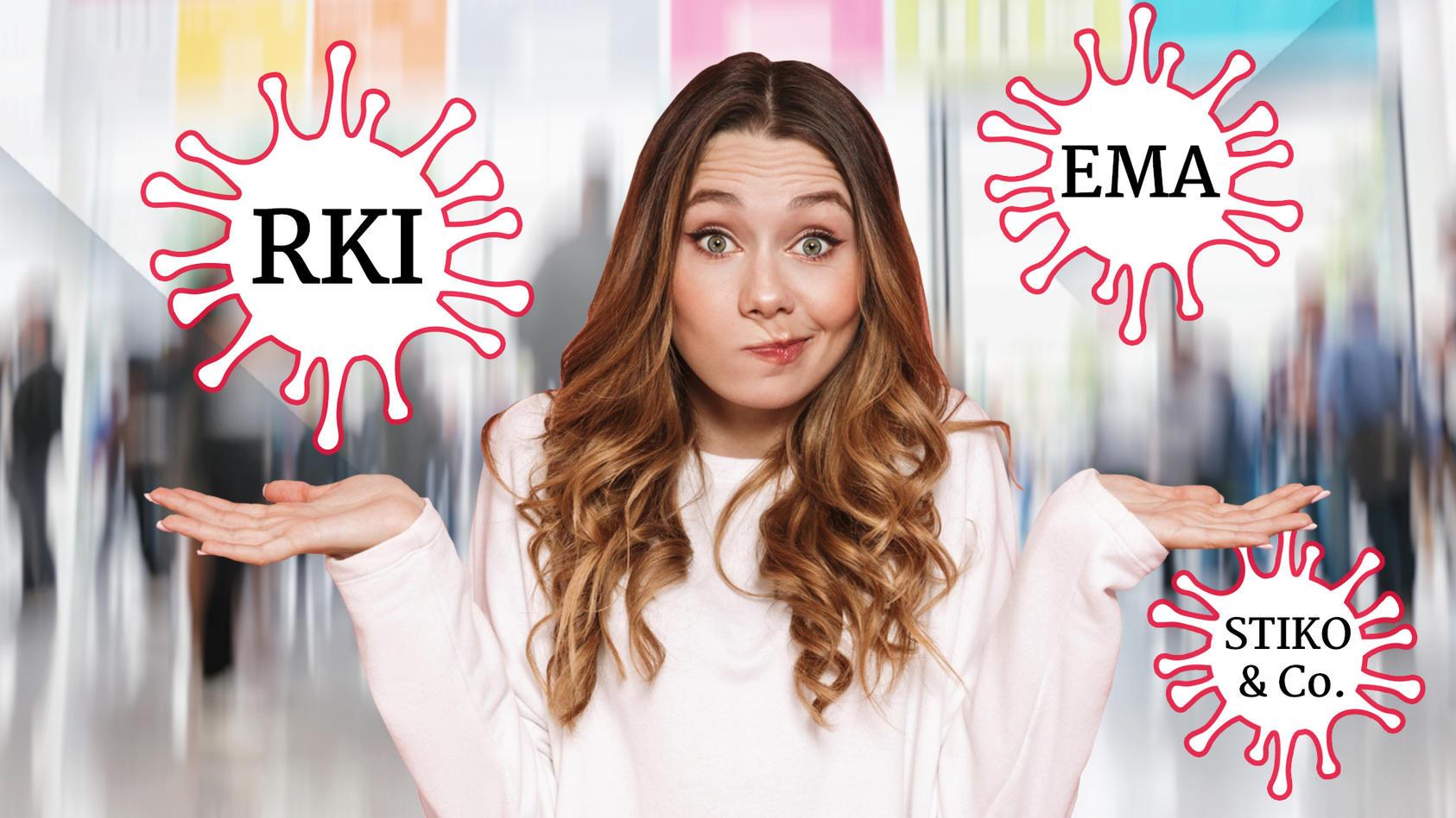 RKI, STIKO, EMA & Co. - durch Corona sind viele Abkürzungen aus unserem Alltag nicht mehr wegzudenken. Aber wer oder was steckt eigentlich dahinter?