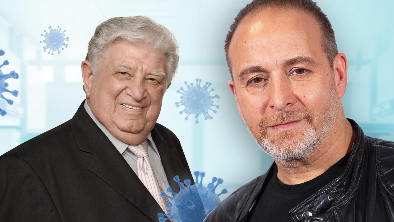 """""""Alarm für Cobra 11""""-Star Erdogan Atalay (r.) hatte große Sorge um seinen Vater Teoman (l.)."""