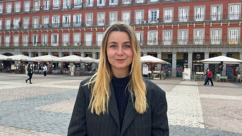 Marie-Therese Burkard  in Madrid