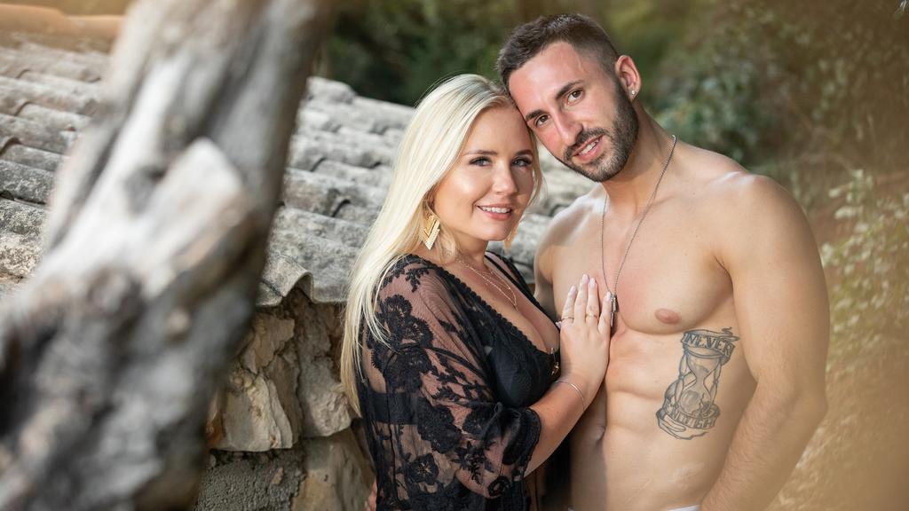 """Marlisa (31) und Fabio (26) aus Berlin wollen bei """"Temptation Island"""" ihre Beziehung testen"""