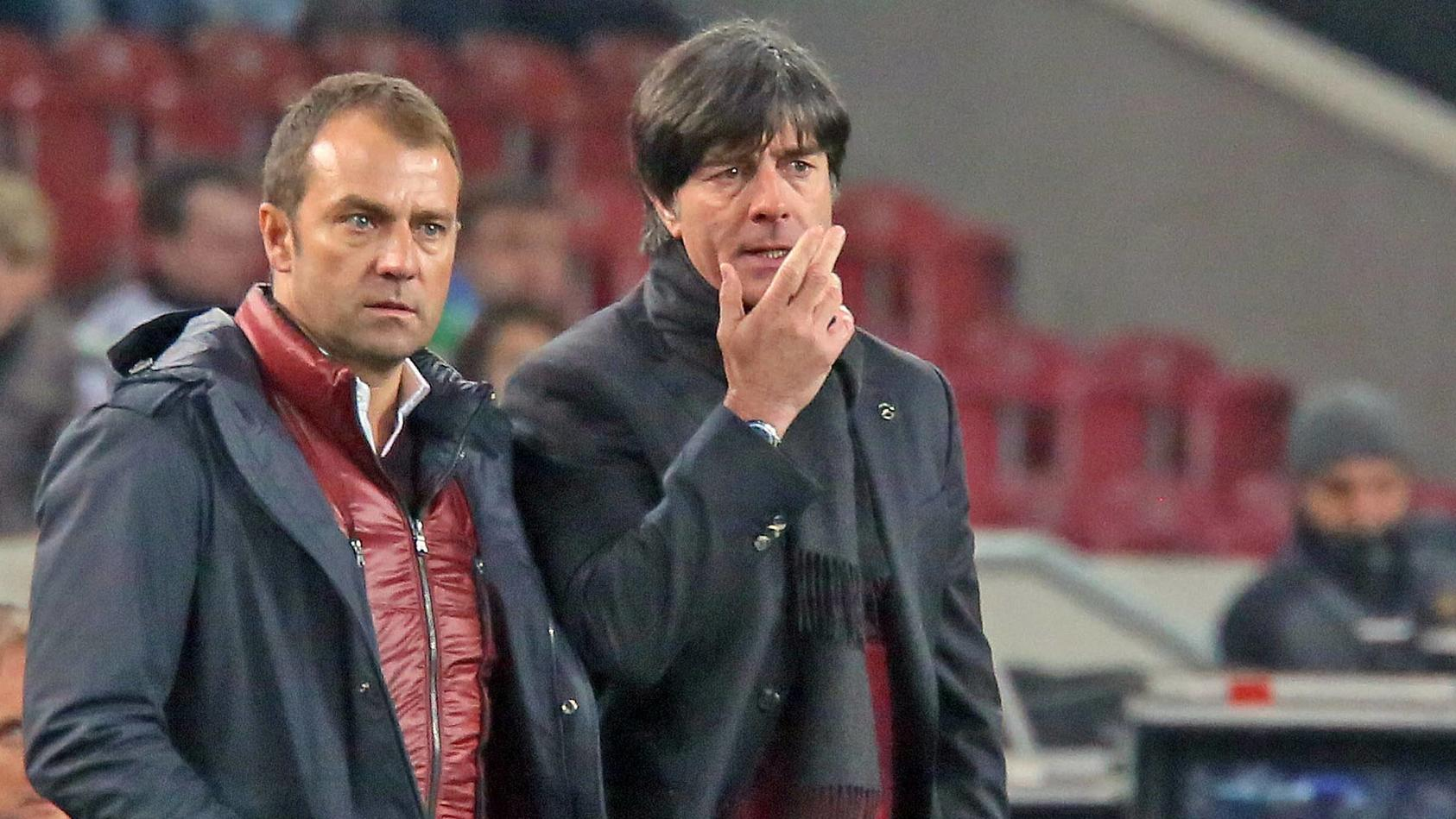 Hansi Flick und Jogi Löw: Sehen wir hier den Bundestrainer und seinen Nachfolger?