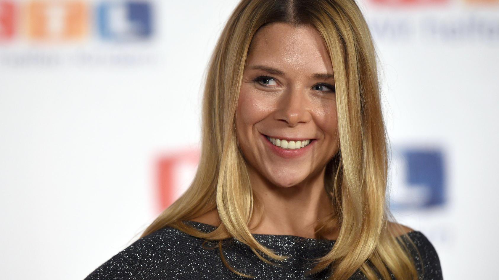 Tanja Szewczenko schwebt auf Mama-Wolke-Sieben.