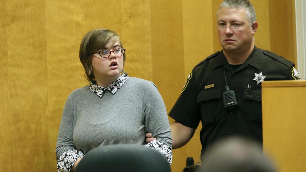 Morgan Geyser bei Prozess