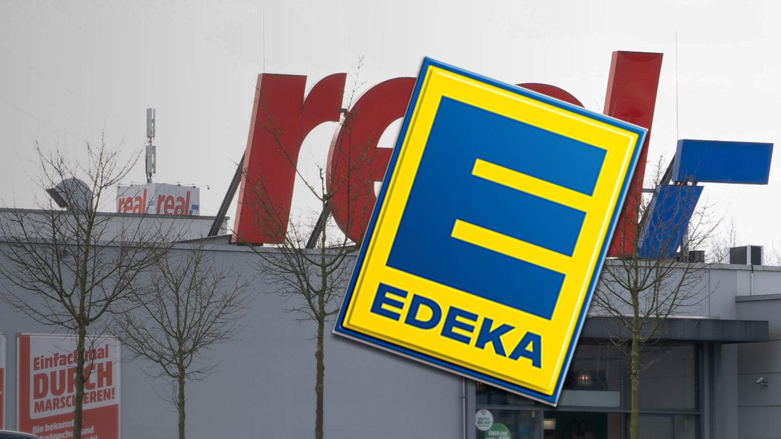 Edeka kann 51 Real-Filialen übernehmen.