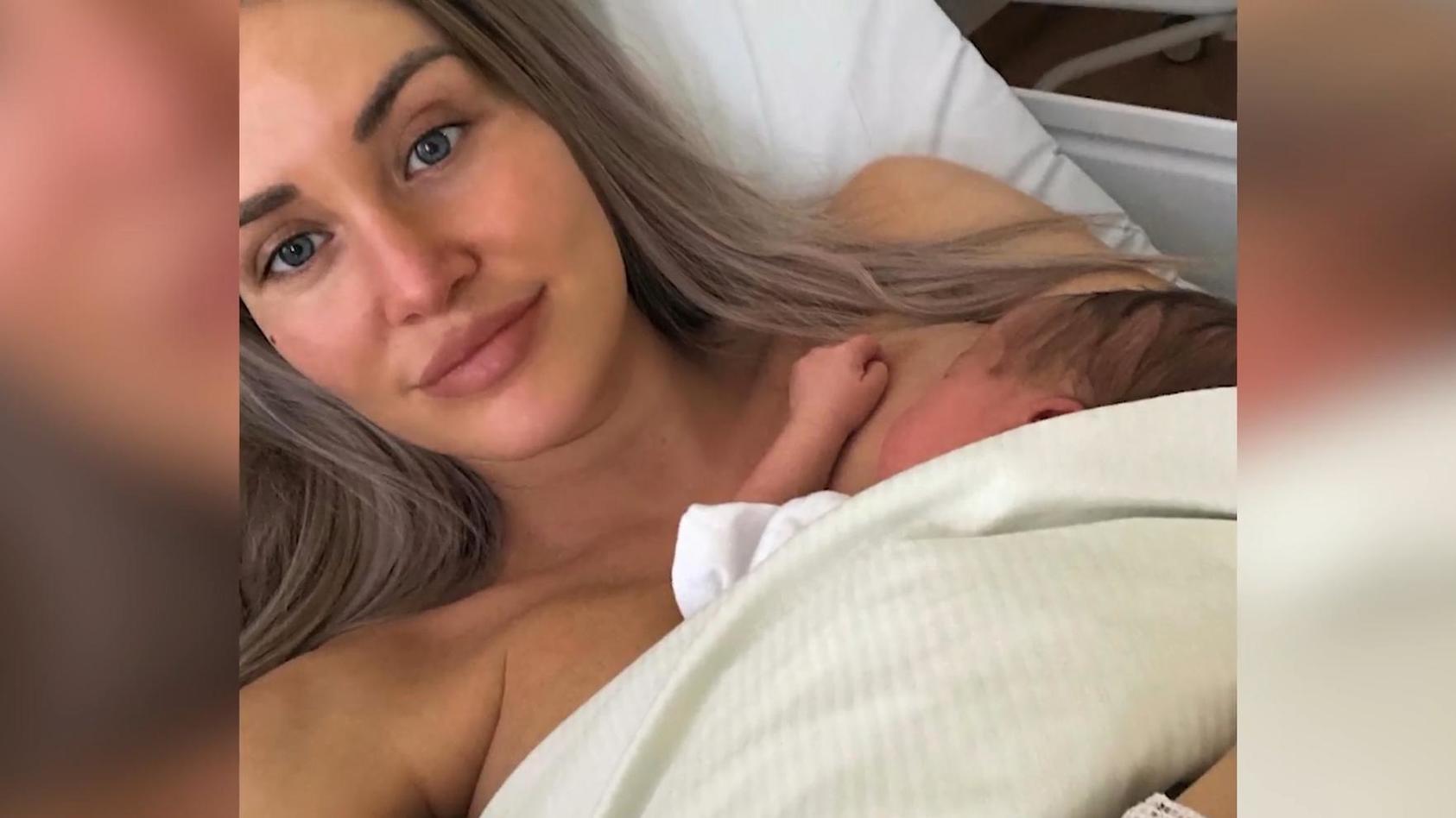 Julia Prokopy ist kürzlich zum ersten Mal Mama geworden.