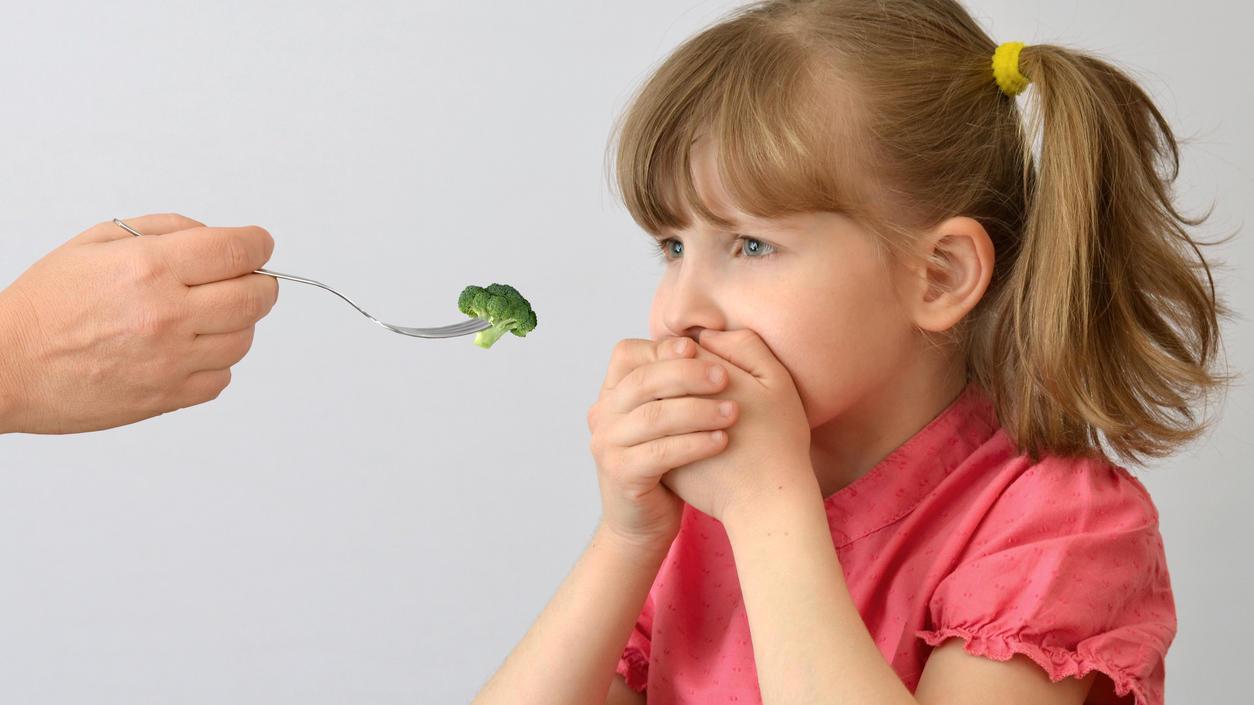Brokkoli - viele Kinder sind einfach noch nicht so weit.