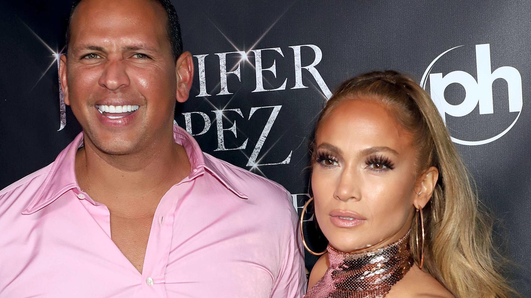 Kein Paar mehr: Alex Rodriguez und Jennifer Lopez.