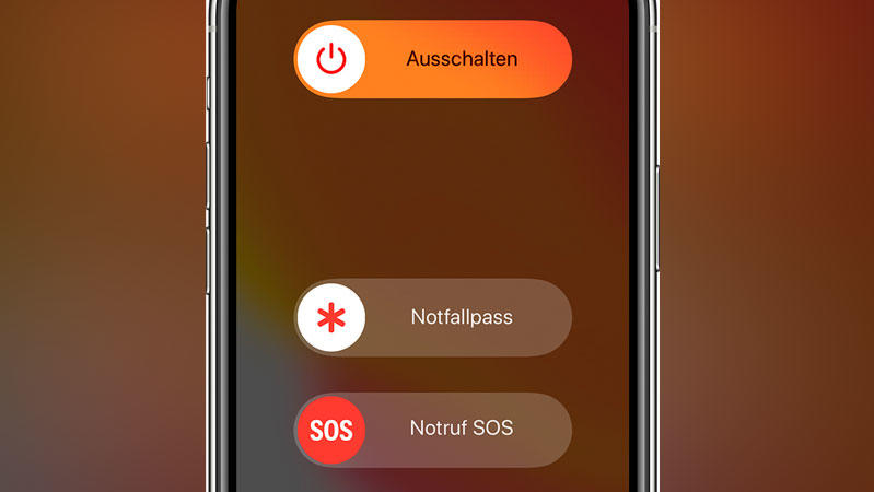 Apple Notfall-Funktion